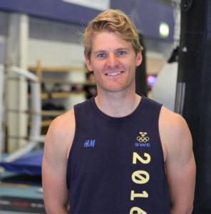 Jesper Stålheim deltar i årets Olympiska Spelen