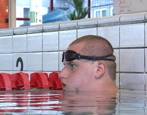 Karl Forsman, simning