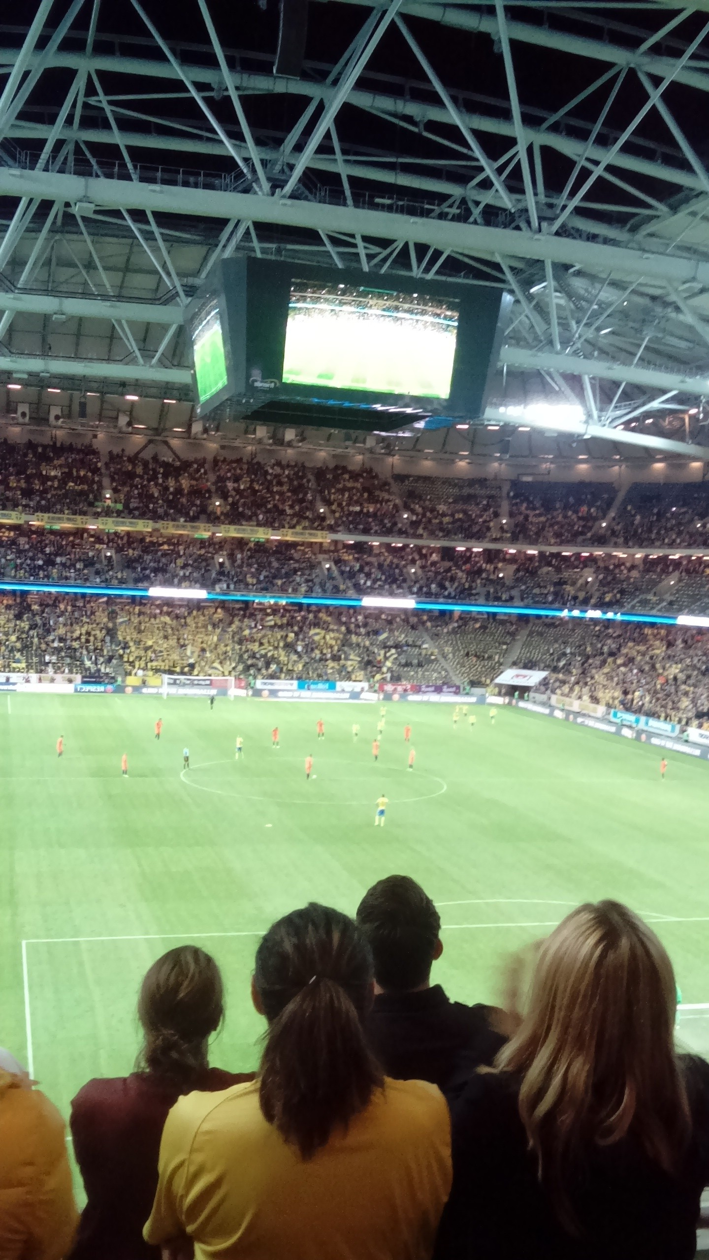 sverige-holland-match