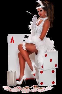 casino-tjej